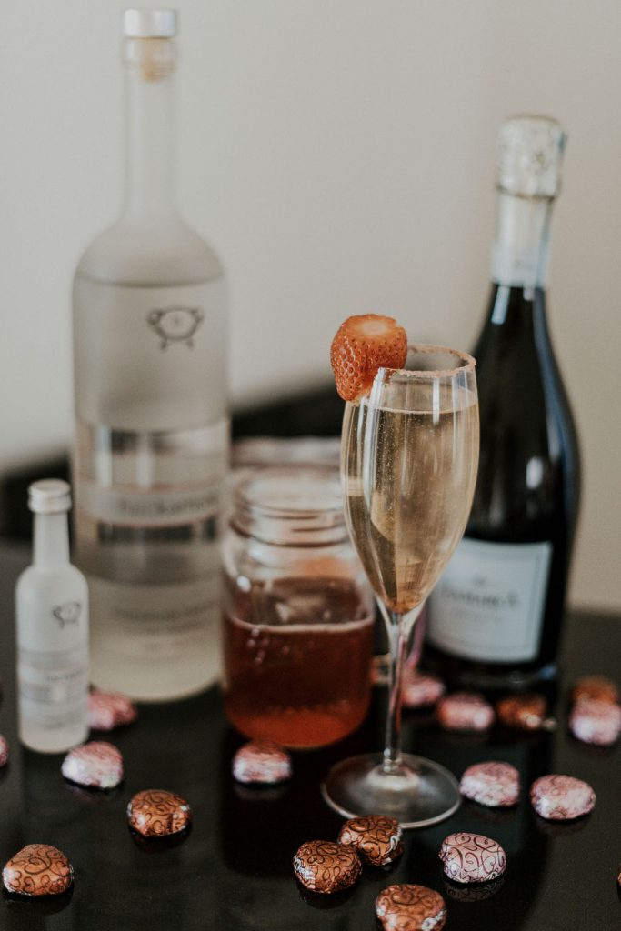 cocktail with Hackamore Energy