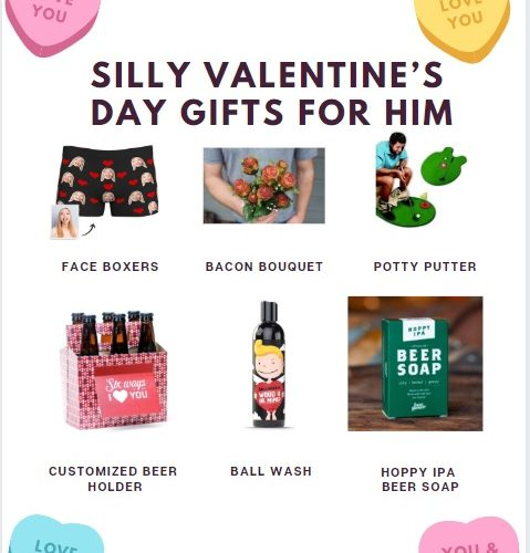silly Valentine's Day gifts guide