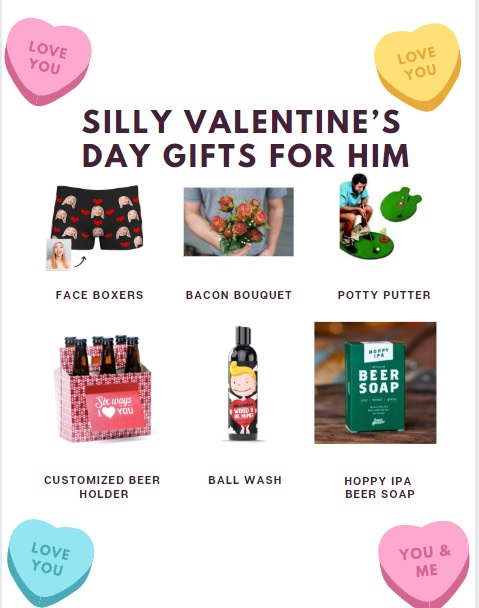 silly Valentine's Day gifts